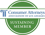 Consumer Attorneys Association Of Los Angeles Sustaining Member